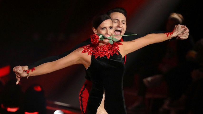 "Ulrike Frank und Robert Beitsch, ""Let's Dance""-Tanzpaar 2019"