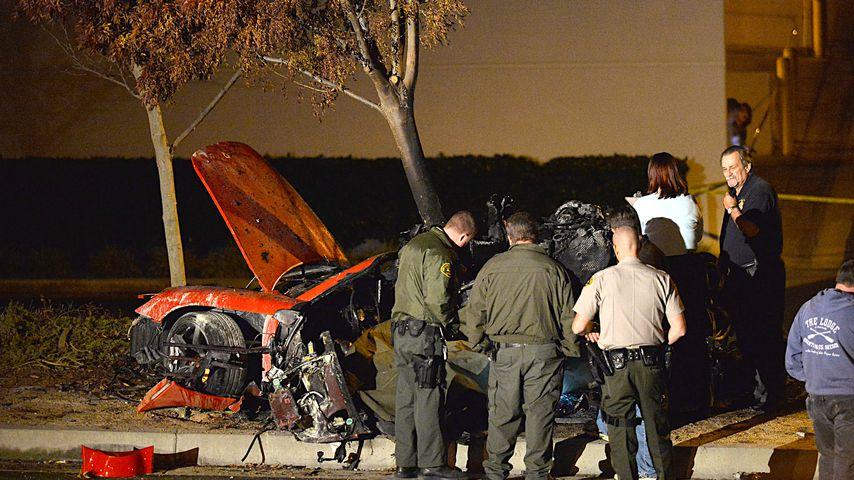 Unfallwagen von Paul Walker