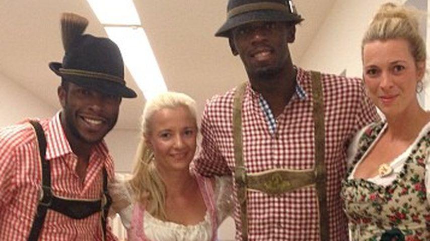 Usain Bolt macht uns den zünftigen Bayern!
