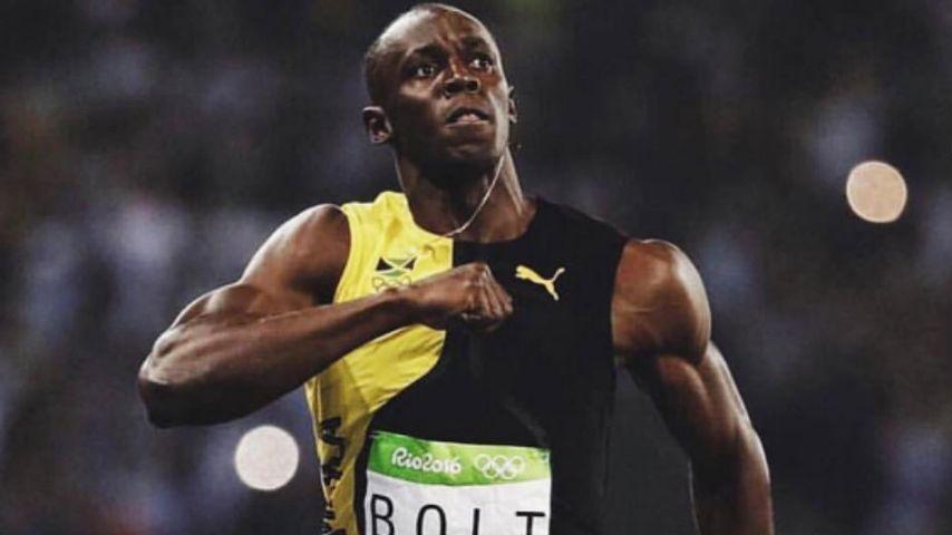 Usain Bolt beim 100-Meter-Finale bei der Olympia 2016