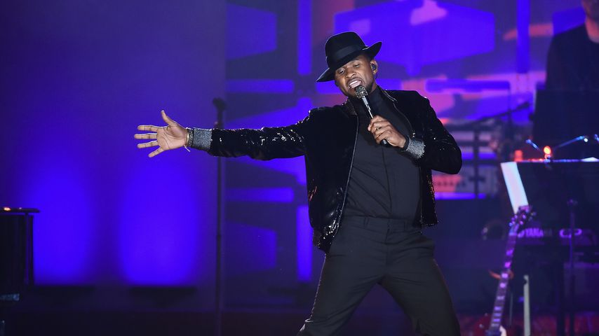 Usher performt bei den 48. Induction And Awards 2017
