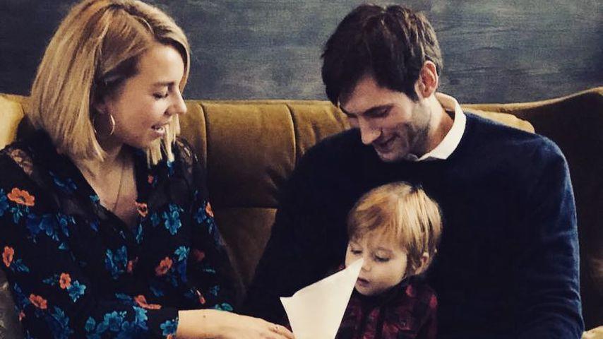 Uwe Gensheimer (r.) mit seiner Familie, Dezember 2018