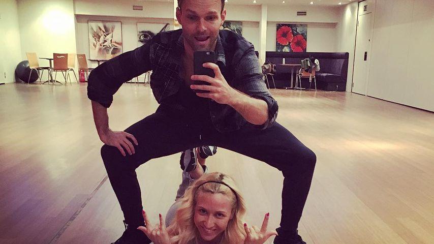 Vadim Garbuzov und Kathrin Menzinger, Profitänzer