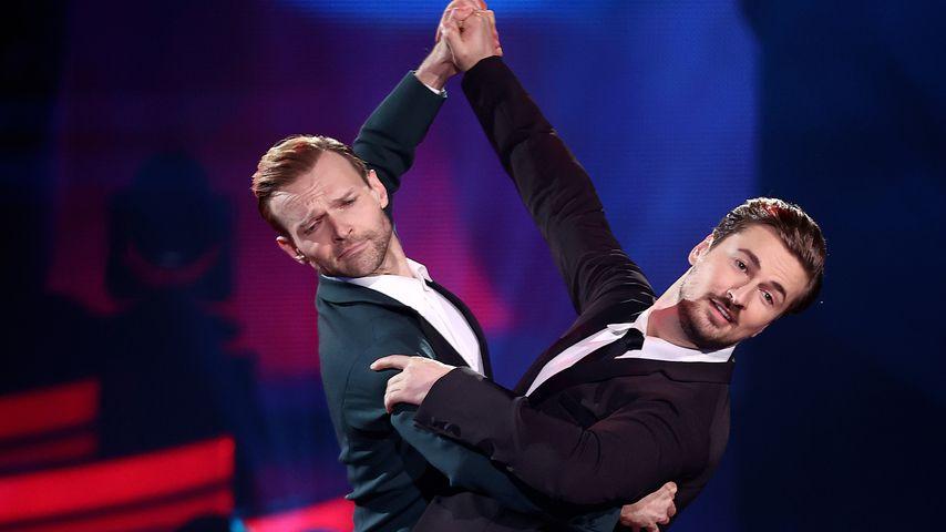 """Vadim Garbuzov und Nicolas Puschmann, """"Let's Dance""""-Finalisten 2021"""