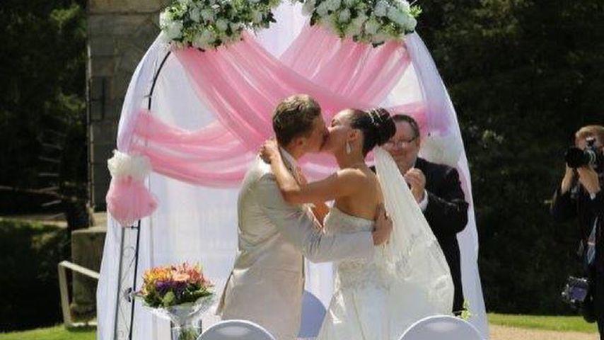 Valentin und Renata Lusin an ihrem Hochzeitstag
