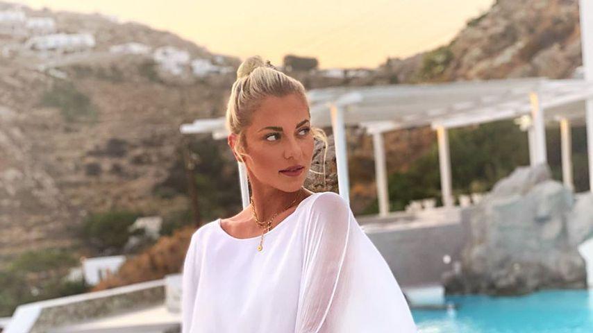 Valentina Pahde im September 2020 auf Mykonos