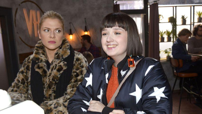 Valentina Pahde und Janina Kranz bei GZSZ