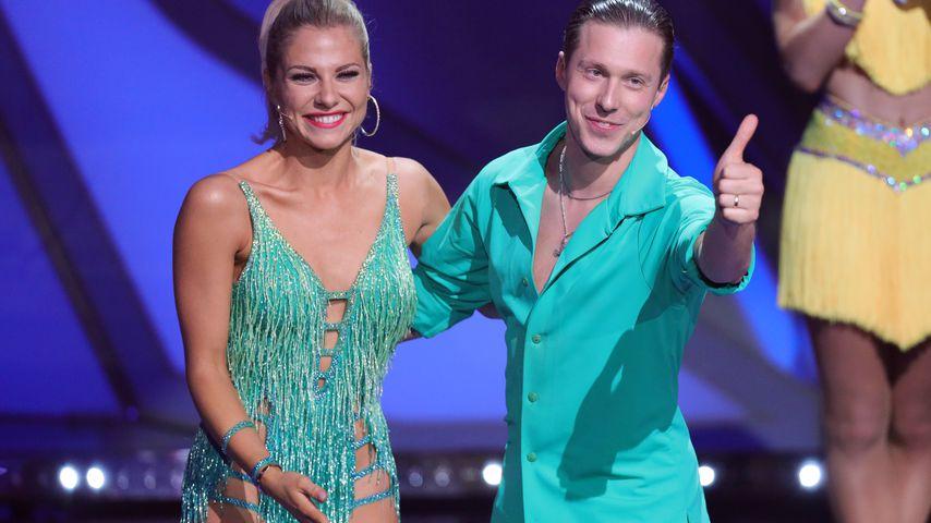 Valentina Pahde und Valentin Lusin bei