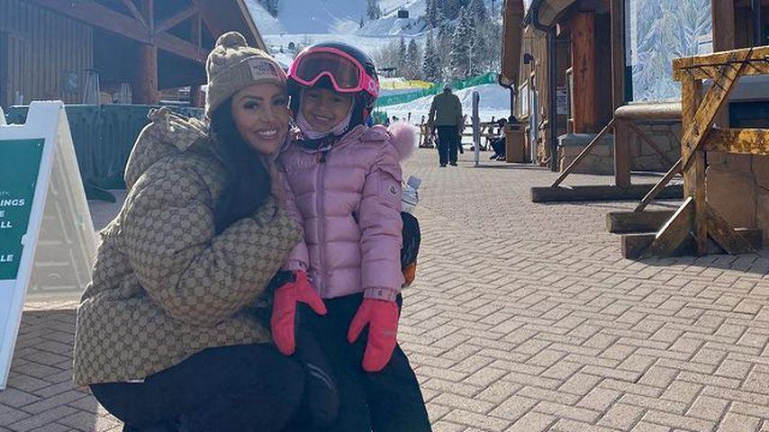 Vanessa Bryant mit ihrer Tochter Bianka Bella