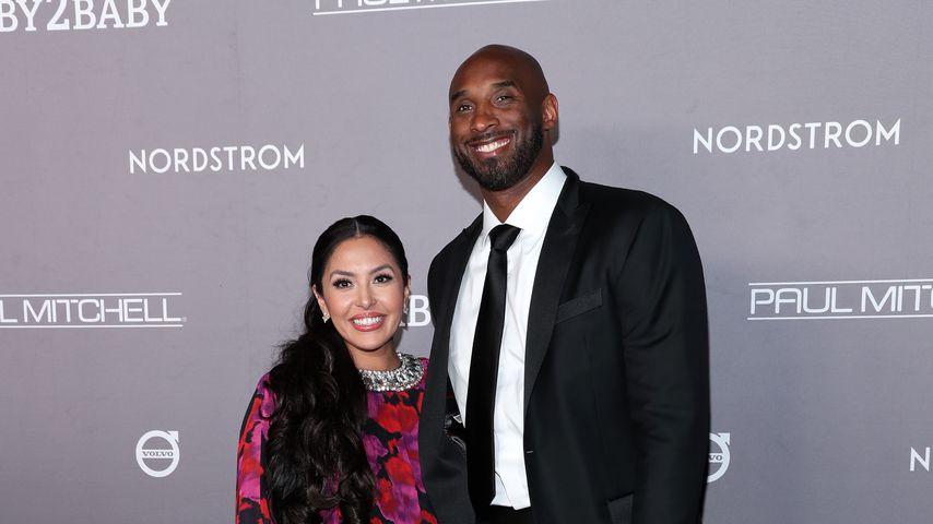 Vanessa Bryant und Kobe Bryant im November 2019