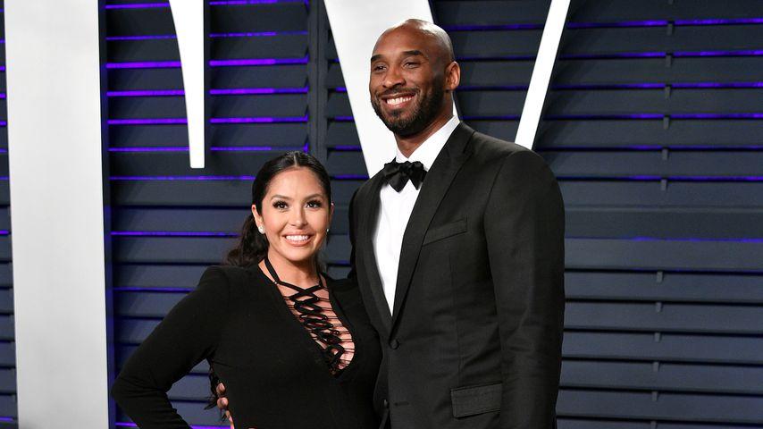 Vanessa und Kobe Bryant, 2019