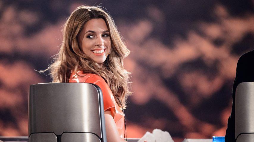 Vanessa Mai bei einer DSDS-Folge 2016