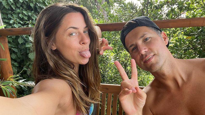 Vanessa Mai und Andreas Ferber im Juni 2021