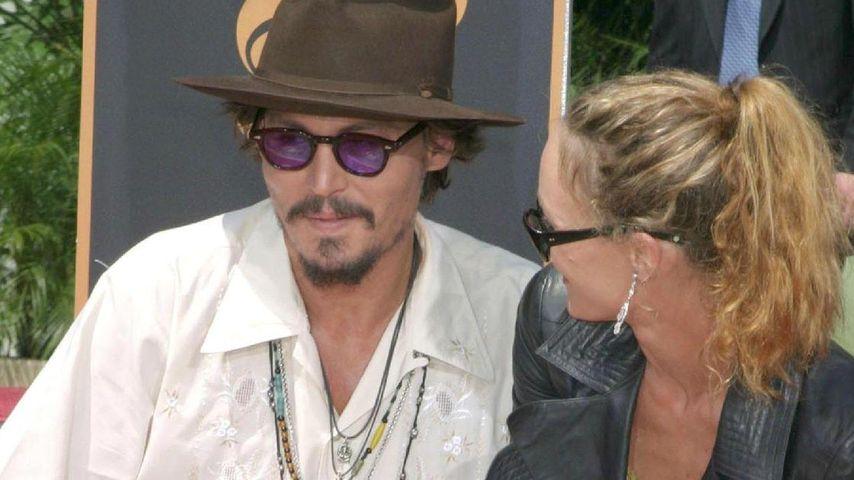 """Johnny Depp: 157 Mio. """"Schweigegeld"""" für Vanessa?"""