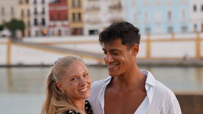 Vanessa Prinz und Abdula Hamed