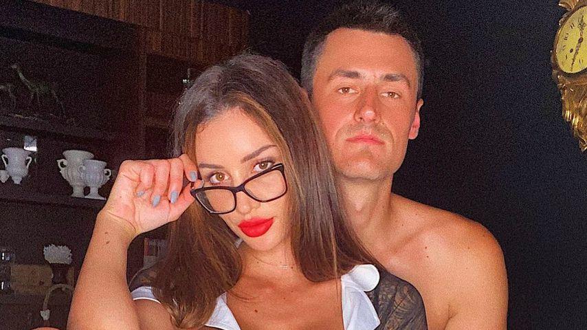 Vanessa Sierra und Bernard Tomic im November 2020