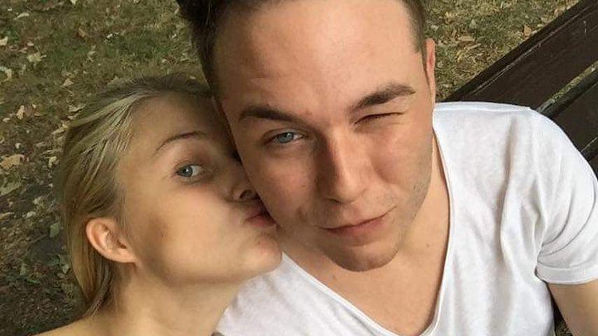 Vanessa Tamkan mit ihrem Partner Roman