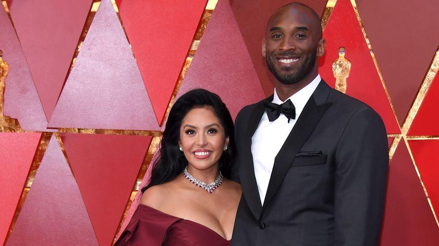 Vanessa und Kobe Bryant bei der Oscar-Verleihung im Jahr 2018