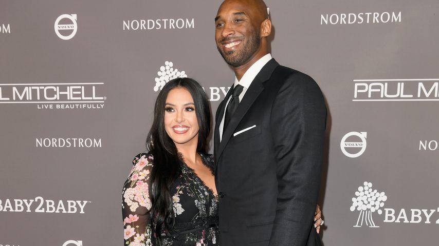Vanessa und Kobe Bryant im November 2018