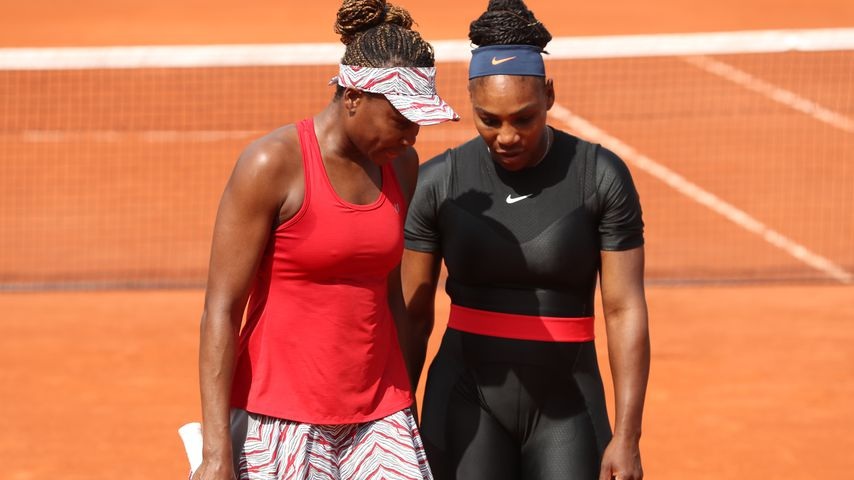 Venus und Serena Williams bei den French Open 2018