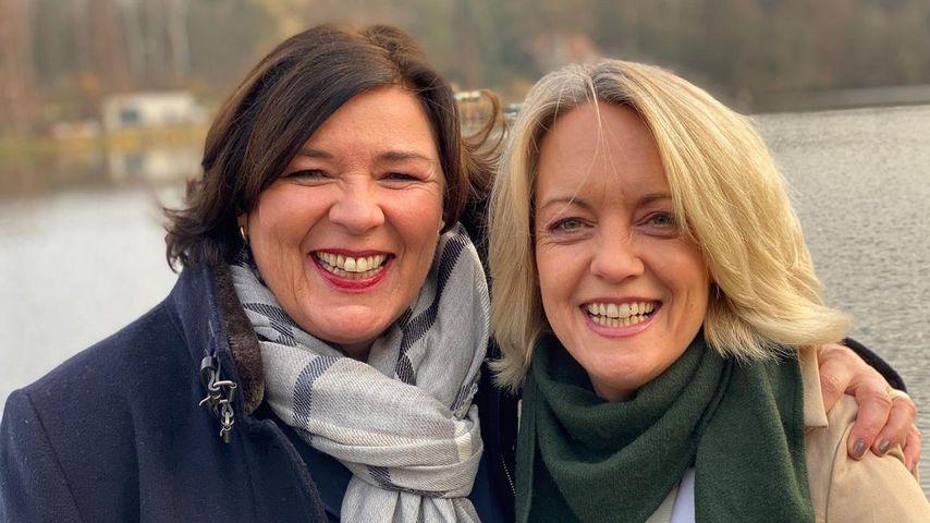 "Vera Int-Veen und ihre Frau Christiane ""Obi"" Obermann, Januar 2021"