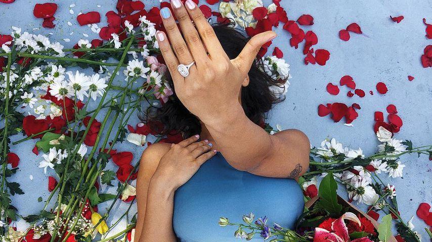 Verlobungsring von Nash Griers Freundin