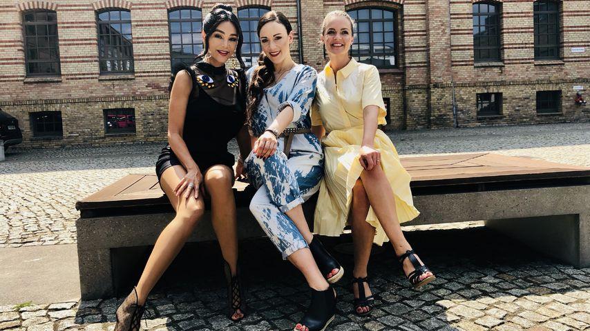"""Verona Pooth, Jasmin Wagner und Eva Brenner bei """"Promi Shopping Queen"""""""
