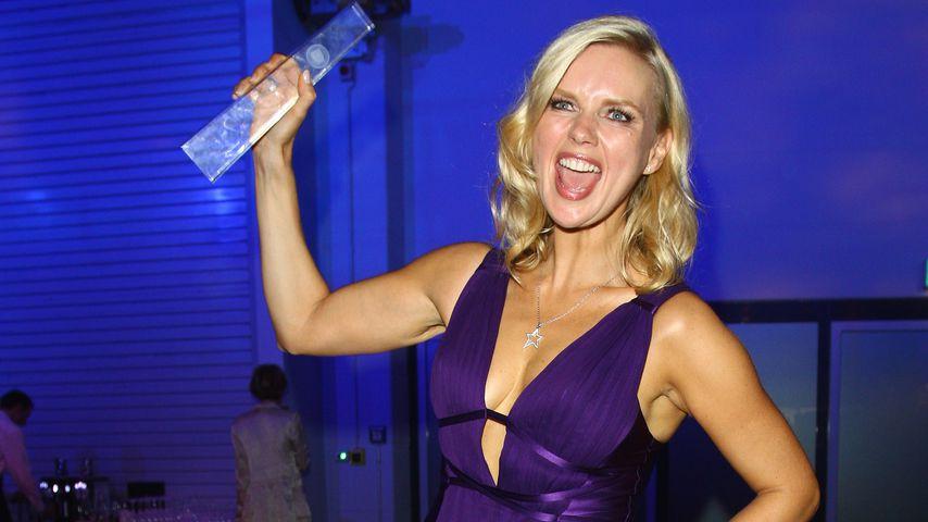 """Veronica Ferres auf der Aftershow-Party des """"Deutschen Fernsehpreises"""" in Köln im Oktober 2008"""