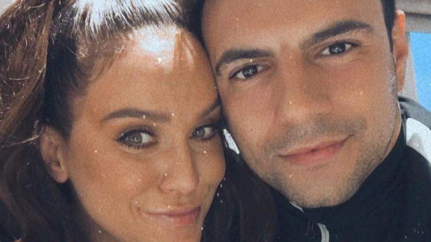 Vicky Pattison mit ihrem Freund Ercan Ramadan