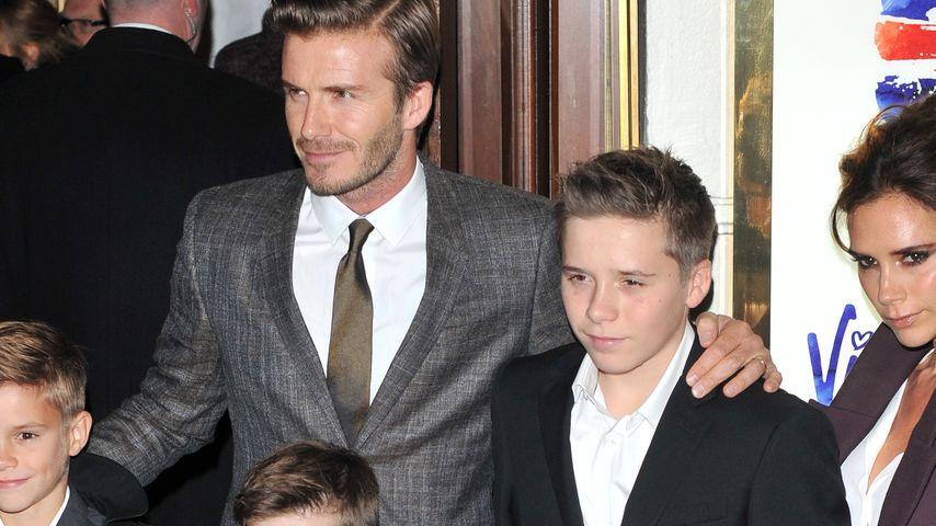 David Beckhams Kinder haben exzellente Manieren