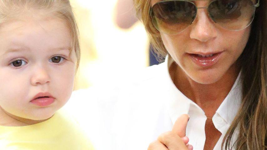 Victoria Beckham und Harper Seven Beckham