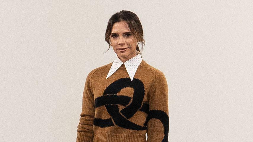 Victoria Beckham bei ihrer Fashionshow in London, 2019