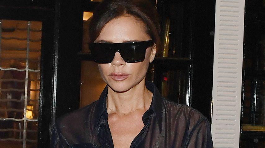 Transparent & sexy: Victoria Beckham mit megaheißer Bluse!