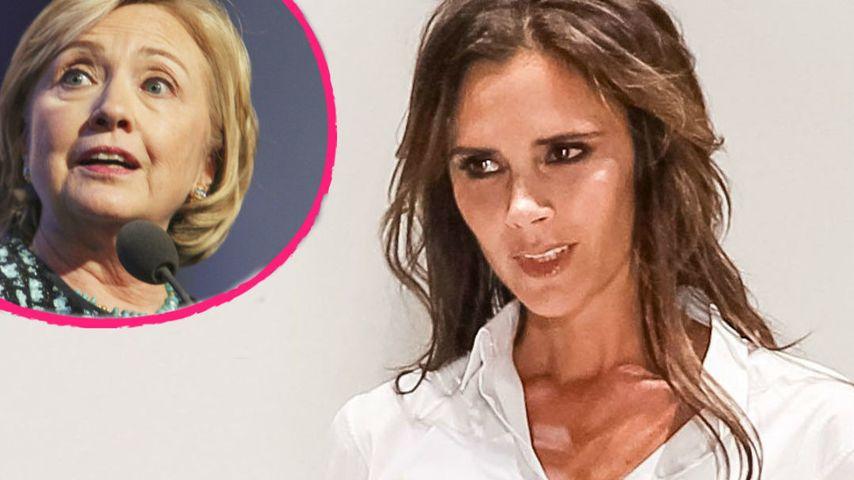 Victoria Beckham: Abendessen mit Hillary Clinton?