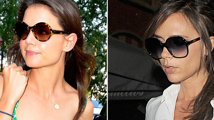 Mode-Battle: Victoria Beckham vs. Katie Holmes