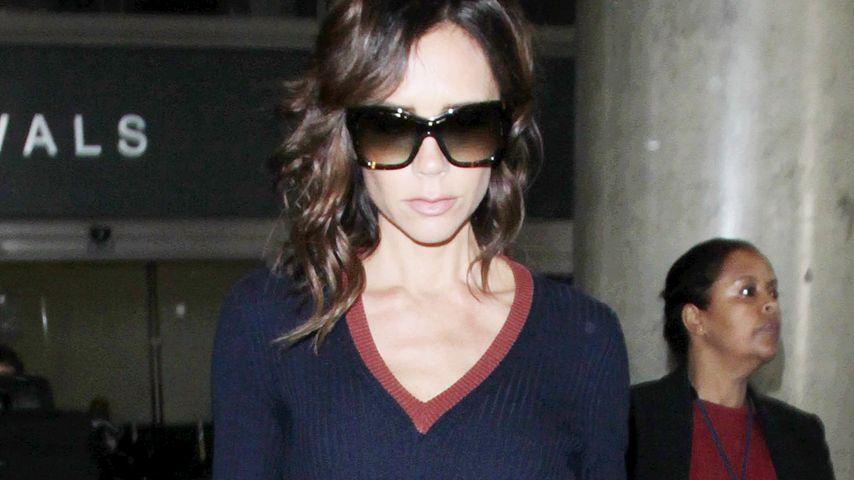Victoria Beckham am Flughafen in Los Angeles