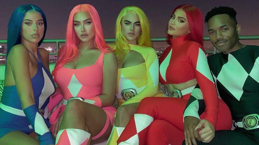 Stark! Kylie Jenner und ihre Freunde im Power-Rangers-Look