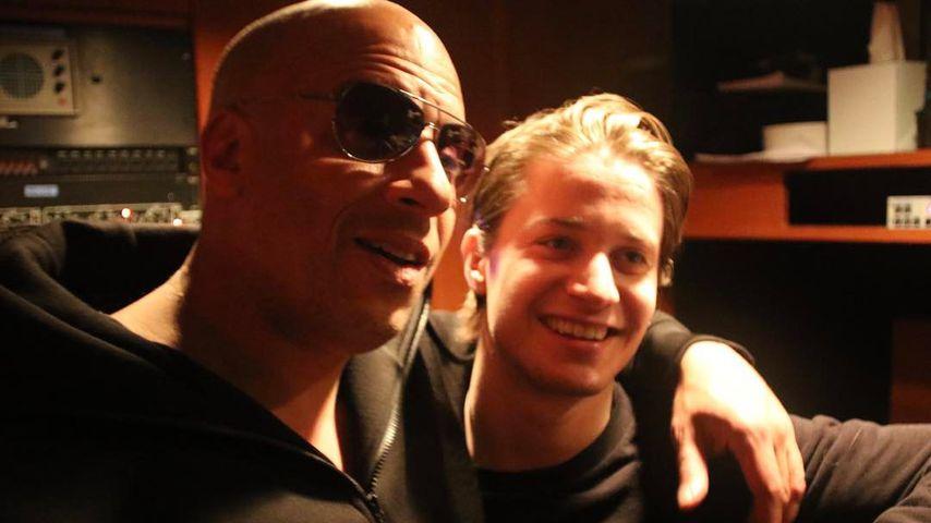 Vin Diesel hört seinen Song im deutschen Radio & rastet aus!