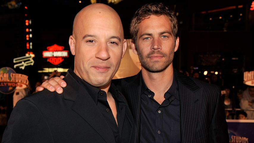 Vin Diesel und Paul Walker im März 2009