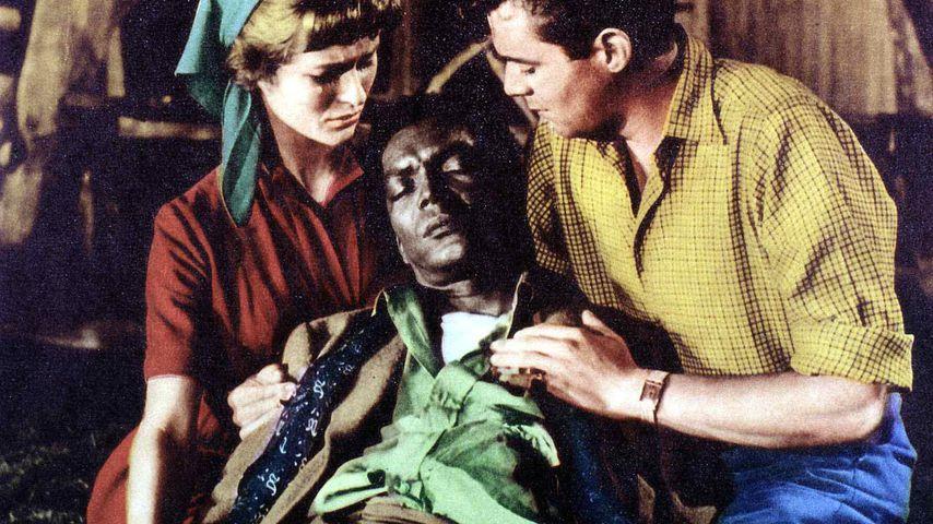 Virginia McKenna Earl Cameron und Dirk Bogarde im Film