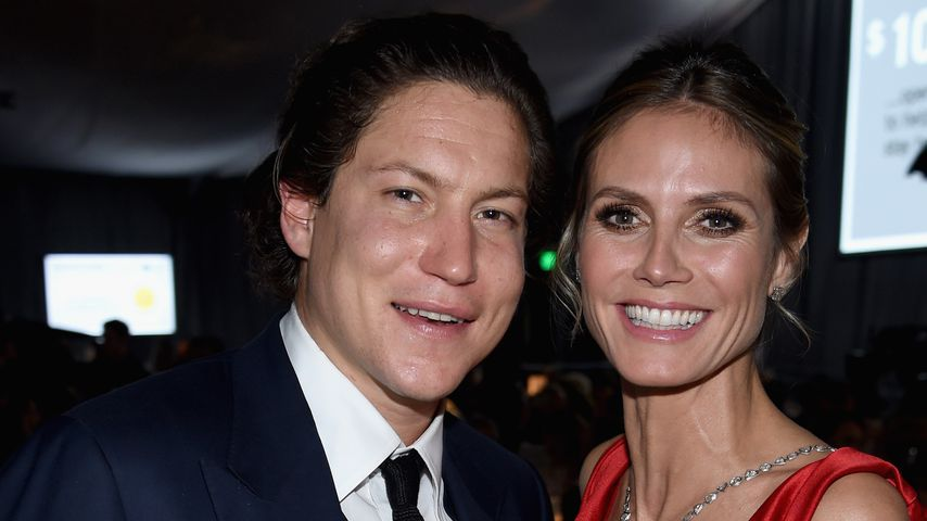 Vito Schnabel & Heidi Klum bei der 25. Elton John AIDS Foundation's Academy Awards Viewing Party