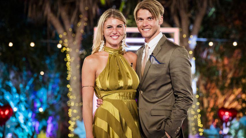 """Vivien Michalla und Sidney Wolf im """"Love Island""""-Finale 2019"""