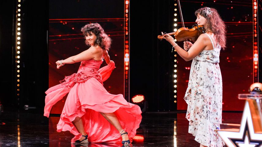 """Vlada-Viola Rosa und ihre Schwester bei """"Das Supertalent"""" 2019"""
