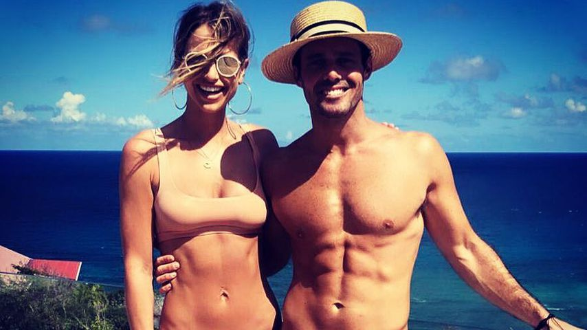 Vogue Williams und Spencer Matthews auf St. Barts