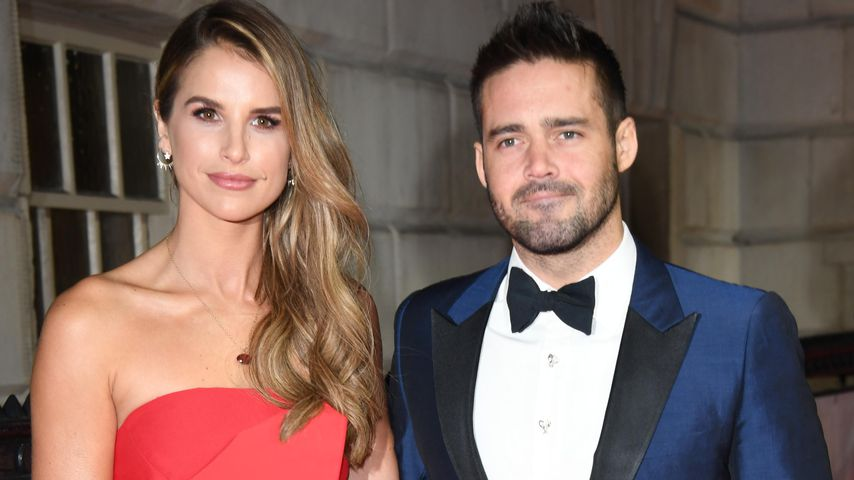 Vogue Williams und Spencer Matthews in London 2017
