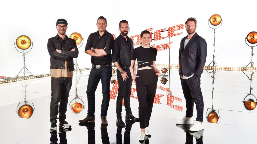 """The Voice Senior""-Coaches Mark Forster, The BossHoss, Yvonne Catterfeld und Sasha"