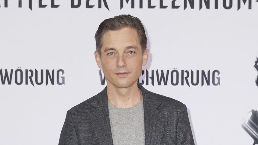 """Volker Bruch beim Fotocall zu """"Verschwörung"""" im Oktober 2018 in Berlin"""