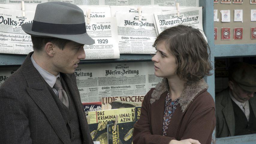 """Volker Bruch und Liv Lisa Fries in """"Babylon Berlin"""""""