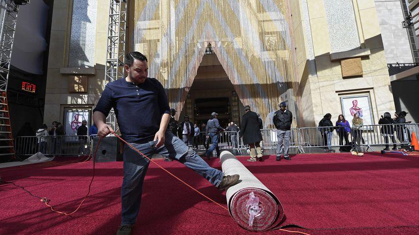 Vorbereitungen für die 91. Oscar-Verleihung in Los Angeles