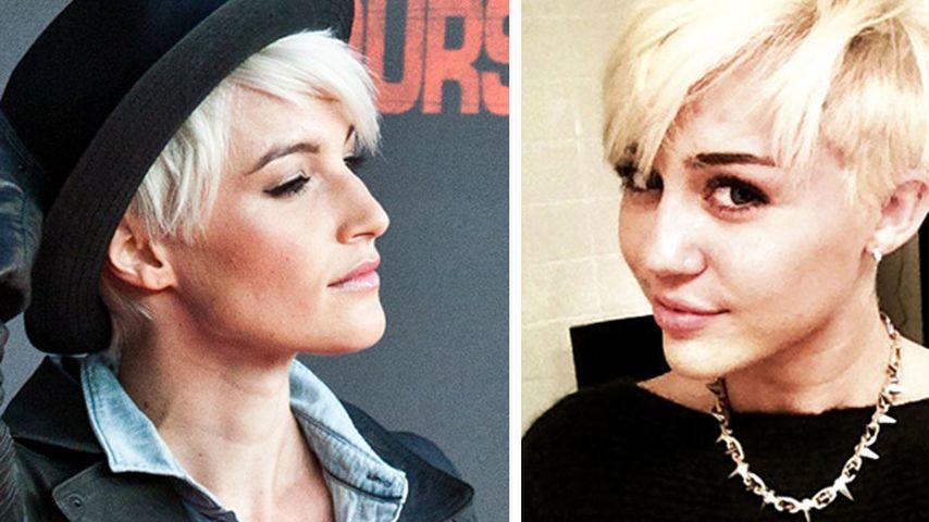 Hat sie Miley kopiert? Wanda Badwal verrät es uns